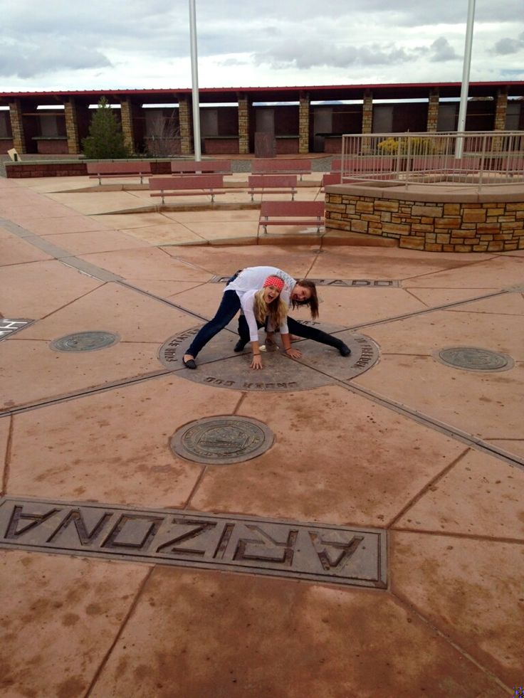 Bucket List Item- Stand in all four states at the Four Corners! Corry totally wants to do this ; )