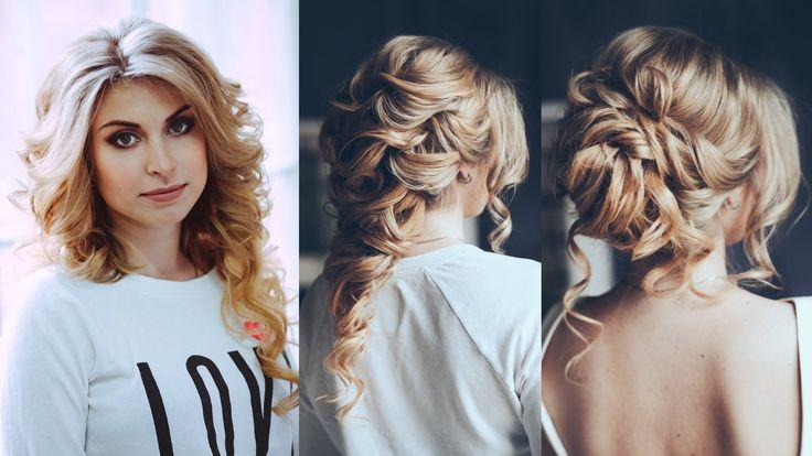 three hair styles from a single hair