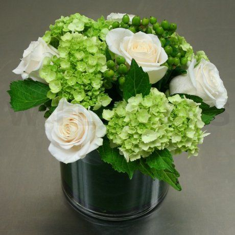 Green Hydrangea Wedding Centerpieces - Bing Images