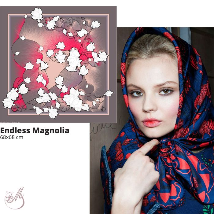Add a little drama to your outfit! Wear a scarf! #mscarves #magnoliascarves #digitalprint #silk #loveitbeforeyouseeit #loveitbeforeyouwearit
