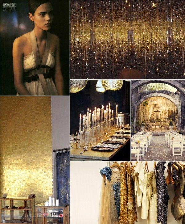 Black and Gold Wedding Ideas