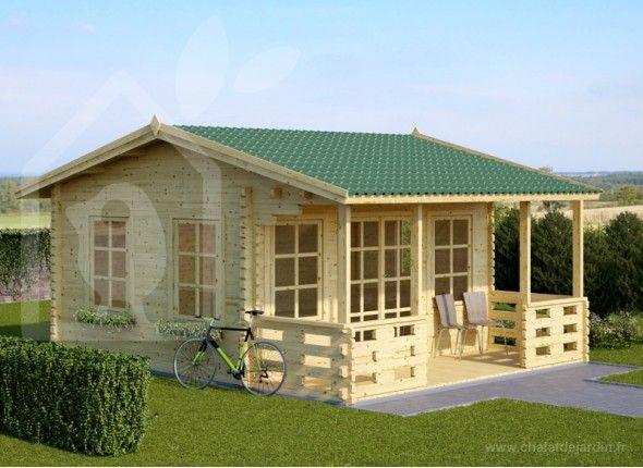 Chalet de jardin en kit royal chalet en kit pinterest chalets et royals - Faire sa cabane de jardin ...