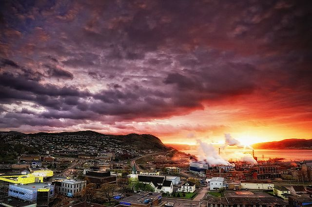 Corner Brook Downtown at Sunset | Flickr - Photo Sharing!