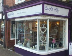 Spoilt Silly is a decor shop in the old market town of Wantage, in Oxfordshire.