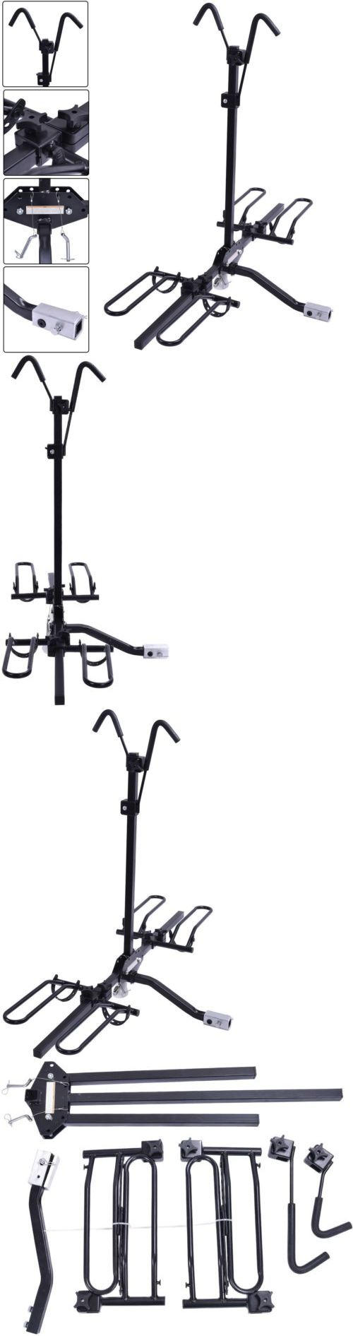 Car and Truck Racks 177849: 2 Bike Carrier Platform Hitch Rack Bicycle Rider Mount Sport Fold Receiver 2 In -> BUY IT NOW ONLY: $67.99 on eBay!
