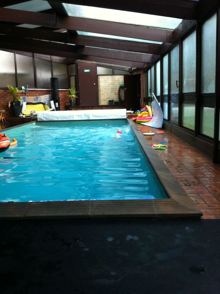 Indoor pool. Fun all year round!