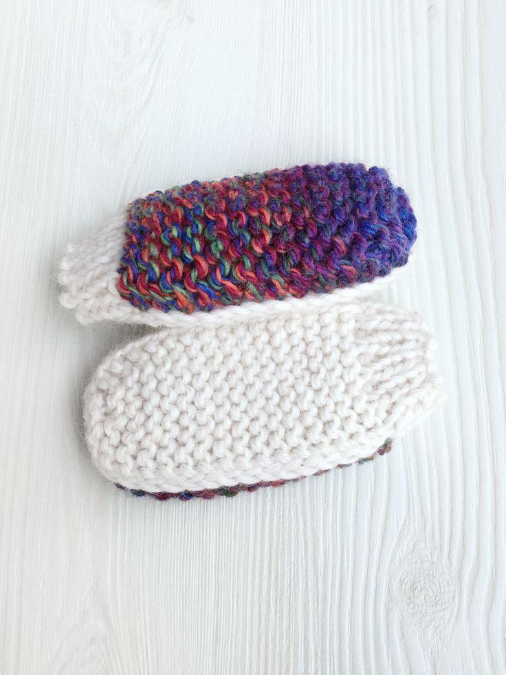 Lawina Baby mittens. Very soft yarn: alpaca 55%, merino wool 45% http://lawinaknit.com/