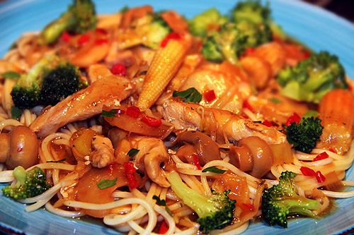 kyckling_wok_het_sås_asiatisk_mat_recept