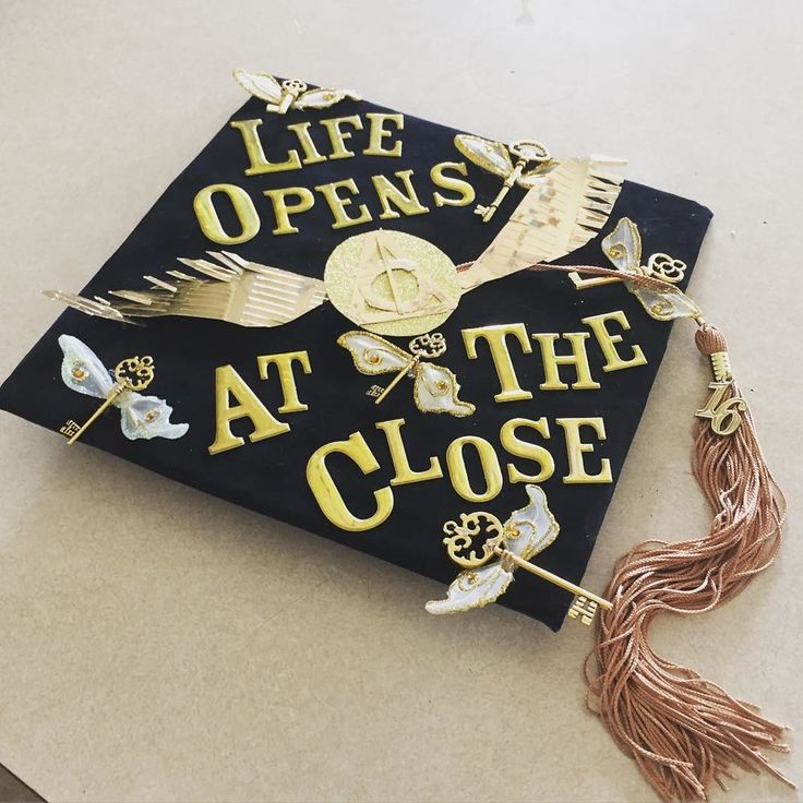 14 graduation cap ideas for every Harry Potter nerd