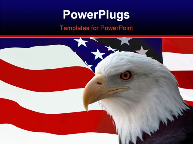 14 best rwb images on pinterest american flag apparel colored free powerpoint template he national bird of the united states of america the majestic toneelgroepblik Choice Image