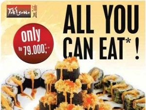 update Seru, 'All You Can Eat' di Takigawa Lihat berita https://www.depoklik.com/blog/seru-all-you-can-eat-di-takigawa/