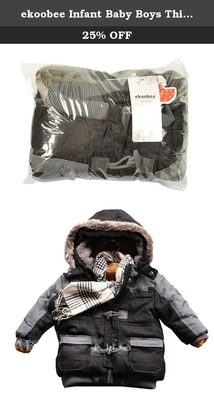 ekoobee Infant Baby Boys Thick Winter Warn Hooded Coats Jackets (3T). Tag 6months Length 35cm,Chest 29cm Tag12Months Length37cm,Chest 30cm Tag18Months Length 39cm,Chest 31cm Tag23Months Length 41cm,Chest 33cm Tag3Year Length 44cm,Chest35cm .