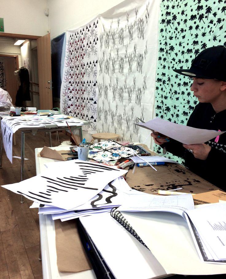 Pattern report class Tillskärarakademin i Göteborg