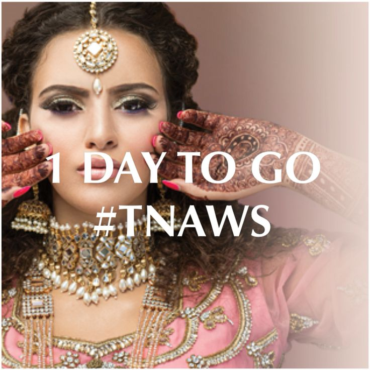 1 Day to Go!! #tnaws   Come and visit us, enter our fantastic new competitions and meet our amazing and talented team!   ✨Stand numbers D38 & D40✨  See you there!   #nationalasianweddingshow  #weddingshow #bride #weddingshopping #bridetobe #asianweddingshow #nishelcreations #asianwedding #indianwedding #londonexcel #henna #jewellery #mehndi #bollywood #jewels