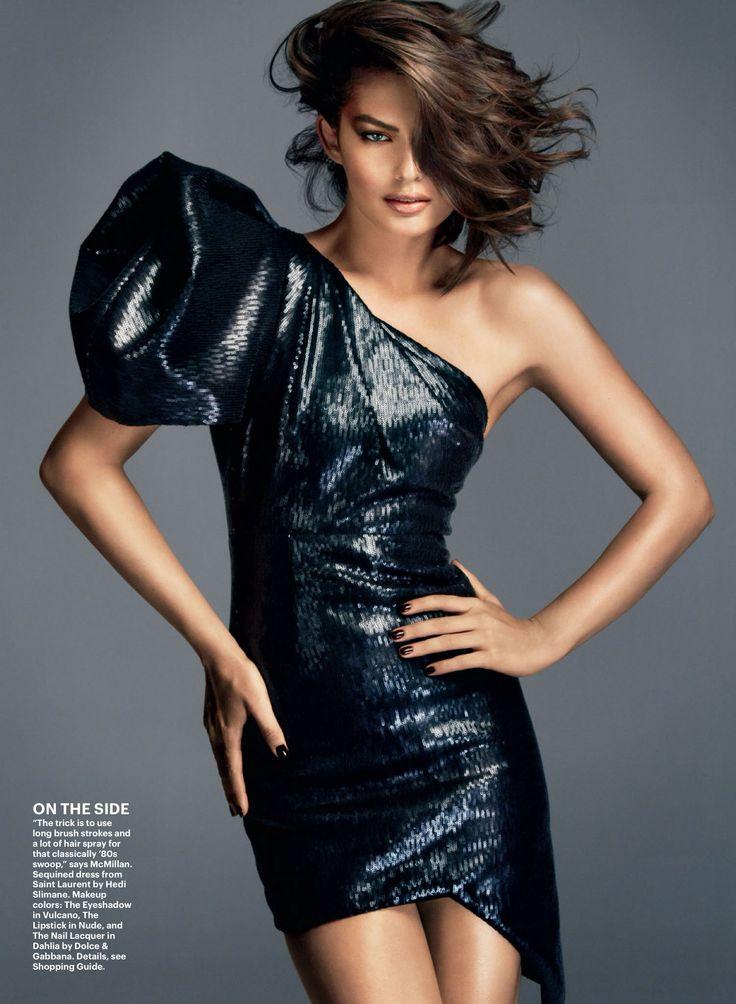 ☆ Alyssa Miller | Photography by Greg Kadel | For Allure Magazine | February 2014 ☆ #Alyssa_Miller #Greg_Kadel #Allure_Magazine #2014