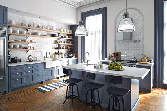 Kitchen | The Intern House Nancy Meyers
