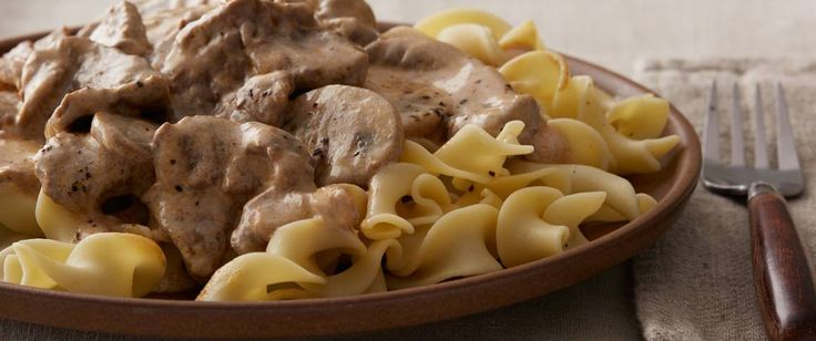 Slow cooker - Stroganoff, once only a weekend special, can now be served weeknights thanks to slow cooking.