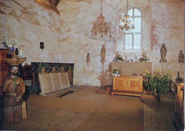 Kemin maaseurakunta Finland  Vanhan kirkon alttari Kemi