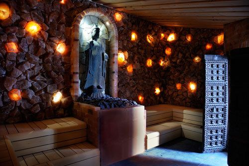 Spa Sereen heeft heel mooie sfeervolle ruimtes, echt een aanrader!