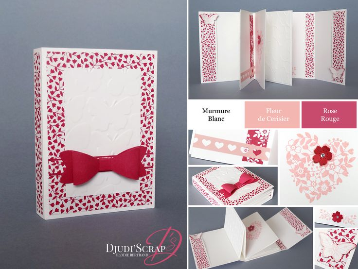 1000 id es sur le th me stampin up sur pinterest estampillage tampons encr - Idee scrapbooking amour ...