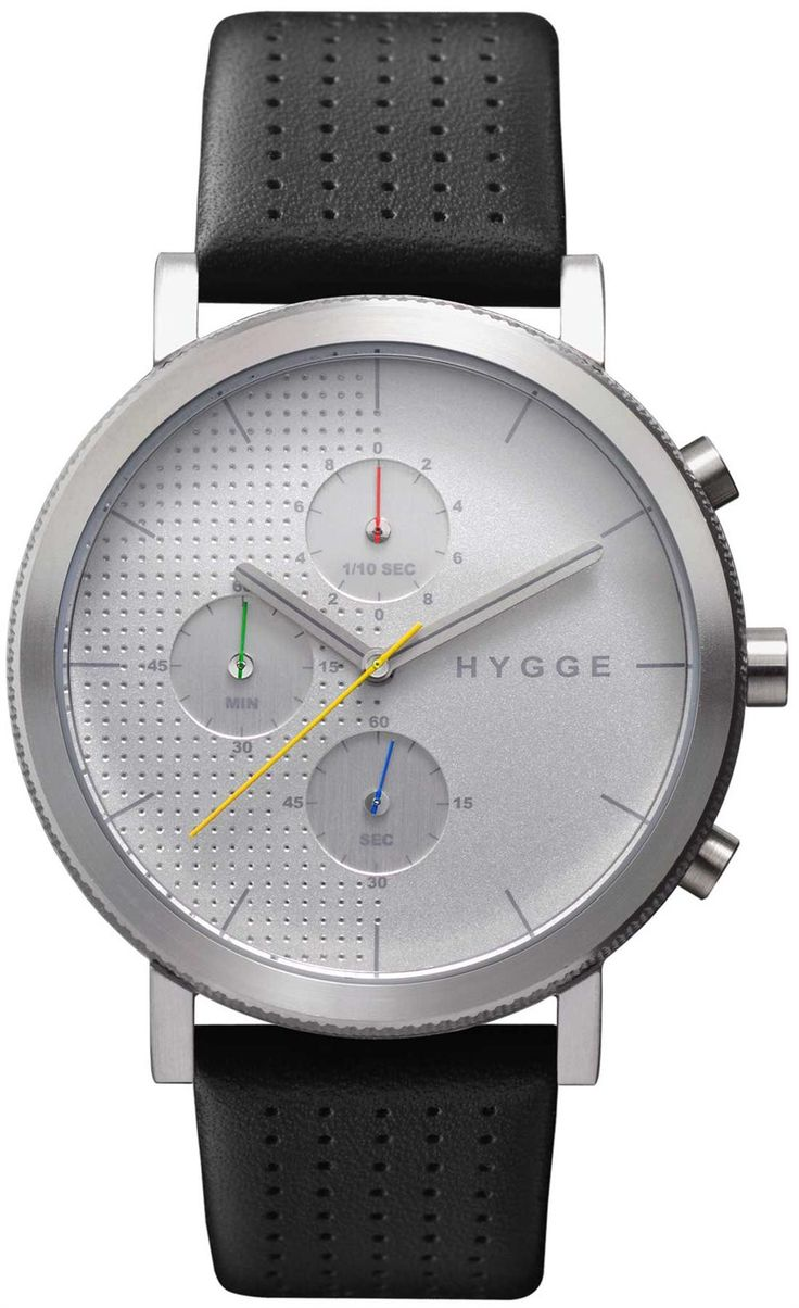 Hygge 2204 Duality Chronograph Silver Ref. MSL2204C(CH)