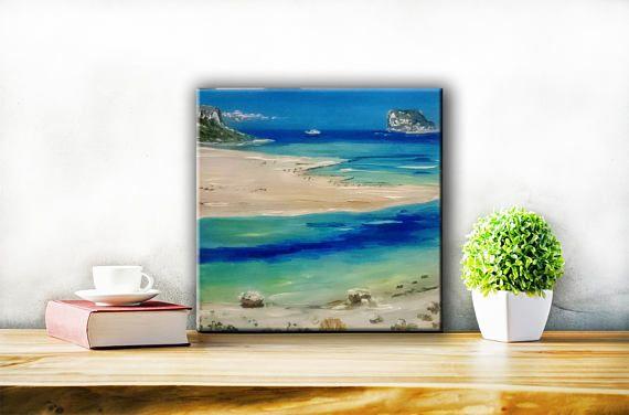 Gifts & mementosOriginal Crete island paintingWedding