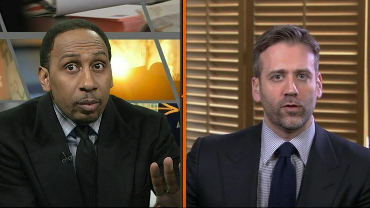 Max Kellerman breaks the news to Stephen A. Smith that Carmelo Anthony is not a superstar.