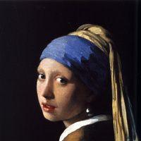 La joven de la perla de Vermeer.