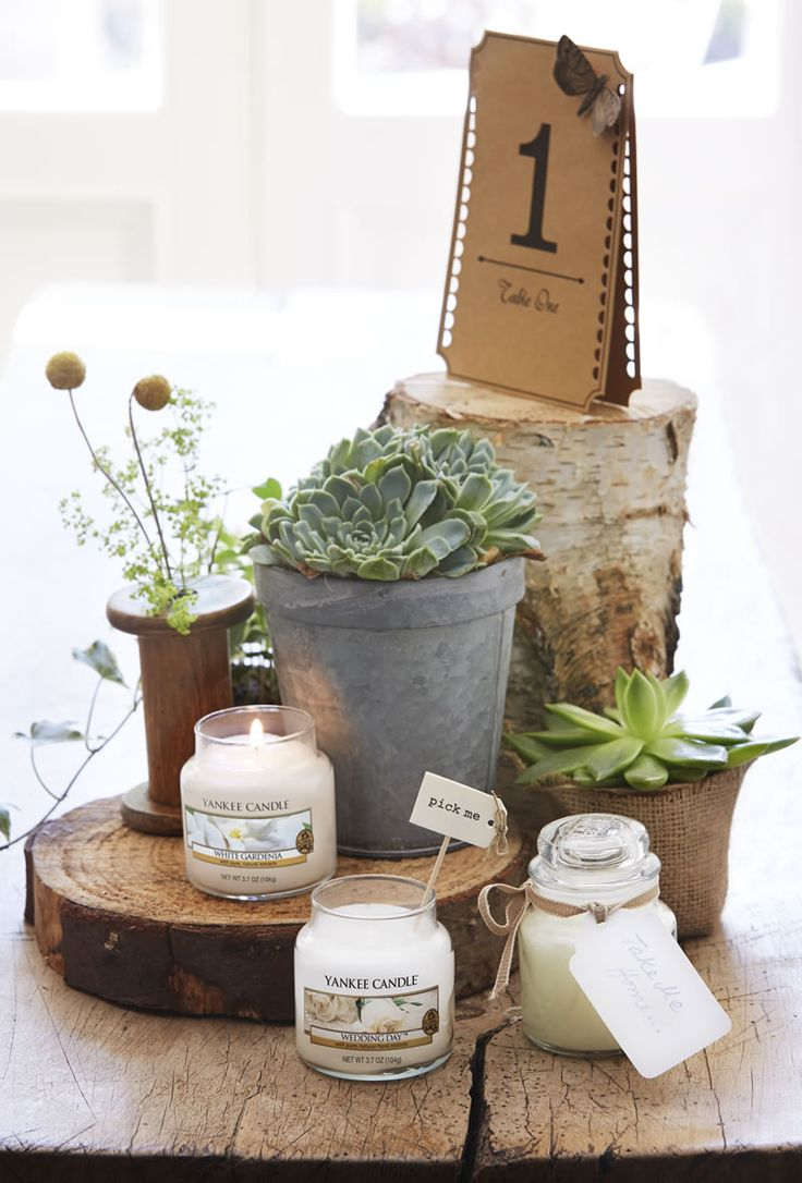 4 beautiful ways Yankee Candle will brighten up your big day