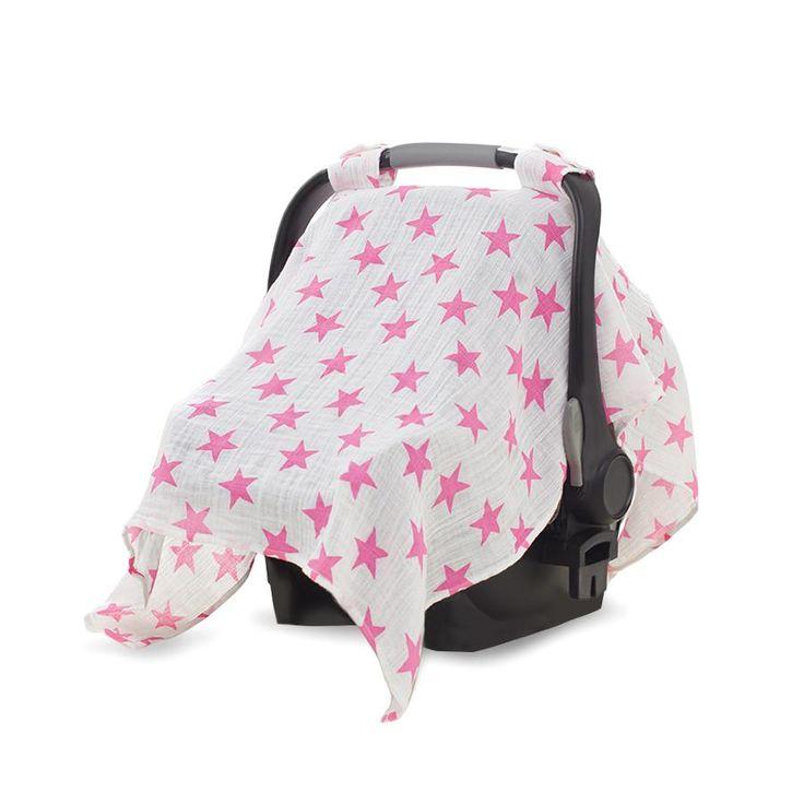 car-seat-canopy-muslin-pink-stars-large