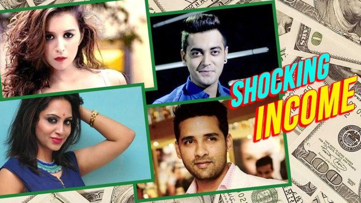 SHOCKING SALARY & NET WORTH Of Bigg Boss 11 Conetstants   Hina Khan Vikas Gupta Benafsha Priyank   lodynt.com  لودي نت فيديو شير