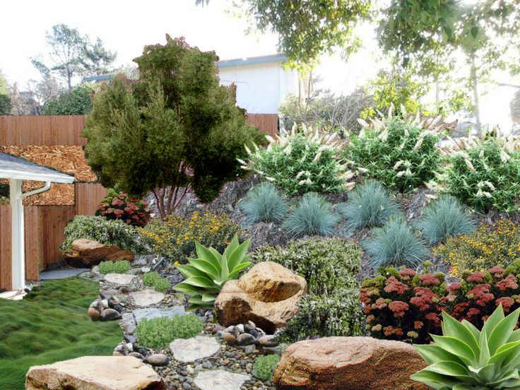 28 best images about lyndsey 39 s landscape designs on for Dry garden designs