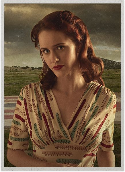 Rachel Brosnahan as Abby Isaacs - Manhattan Cast & Crew