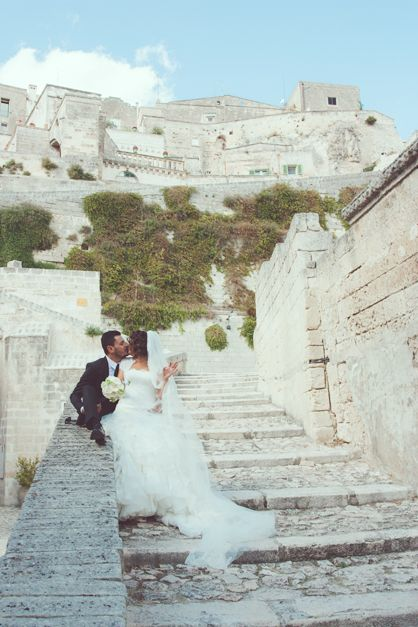 Wedding photography in the beautiful Matera, Italy