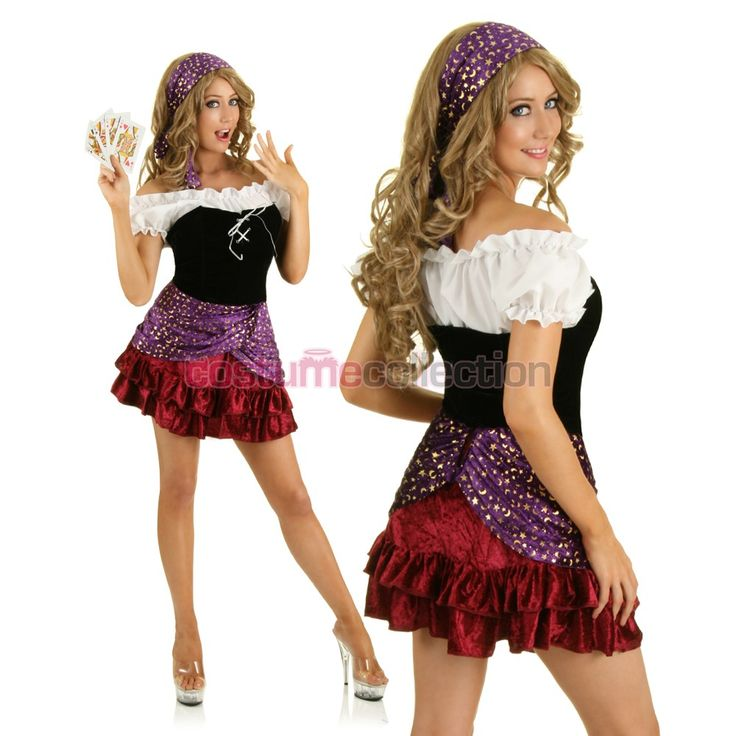 adult mystical gypsy halloween costume - Mystical Halloween Costumes