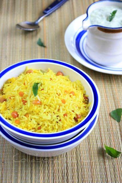 Mango Rice with Cucumber Mint Raita   Pasta, Noodles, and Rice   Pint ...