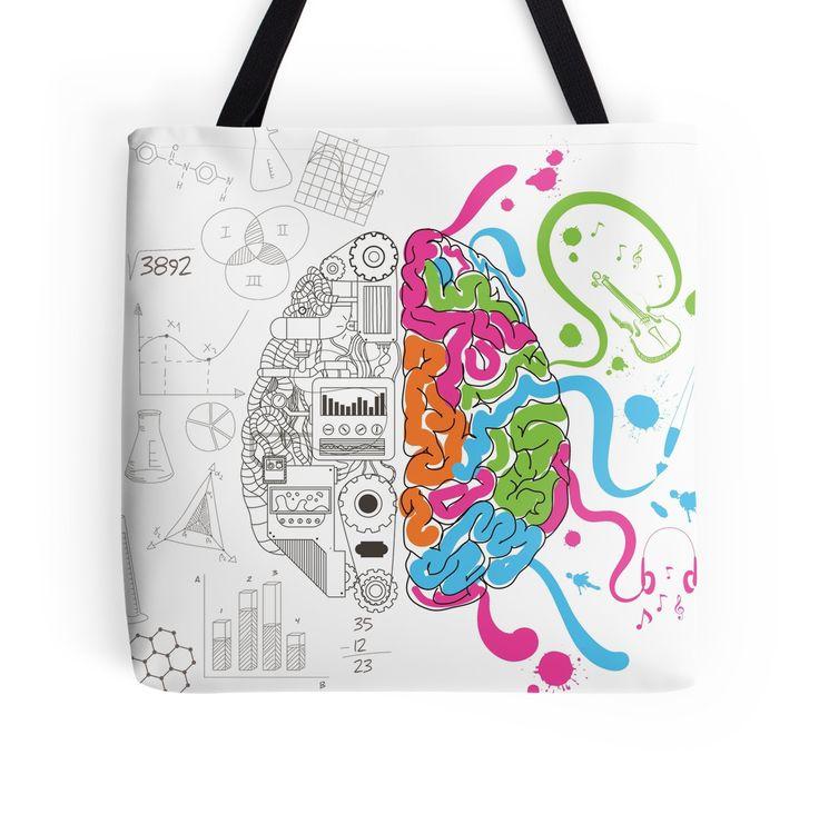 RedBubble Tote Bag | Creative Brain Chemistry