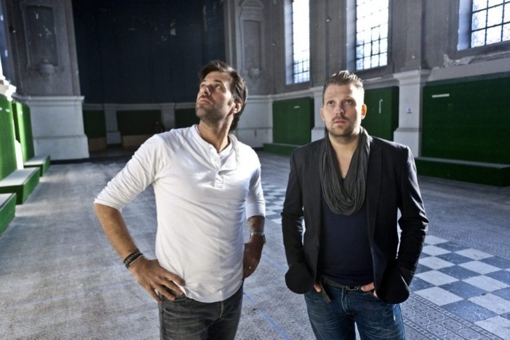Sergio Herman en Nick Bril in La Chapelle, de oude kapel ...