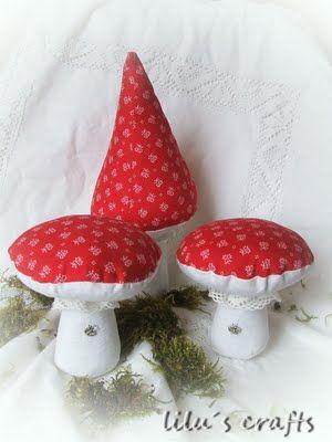 lilu´s crafts: ........neue Pilze.....