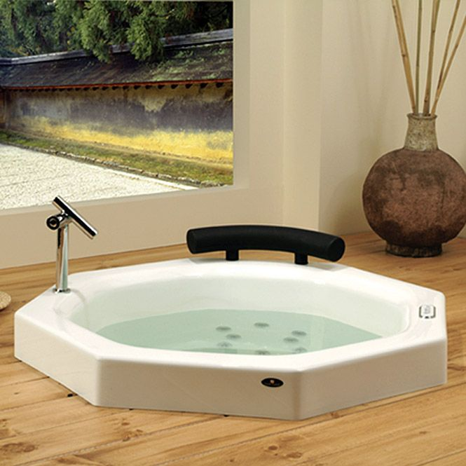 Japanese Soaking Tub | Faucets not included with tub - no holes will be drilled by Neptune ...