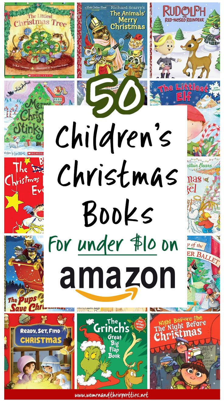 Get these awesome Children's Christmas books on Amazon for under $10! What's your favorite kids book? #Amazon