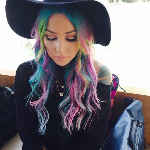 1532 Best Images About Crazy Colored Hair On Pinterest Teal Hair Dye My Hair And