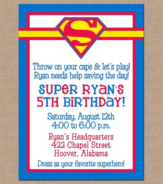 25 Unique Superman Invitations Ideas On Pinterest Superman