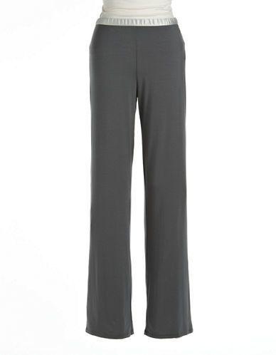 Calvin Klein Essentials Satin Trim Pajama Pants
