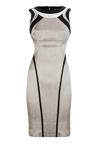 Vestido de Karen Millen tallas 8 a 16. 120 €.  www.sinforey.com