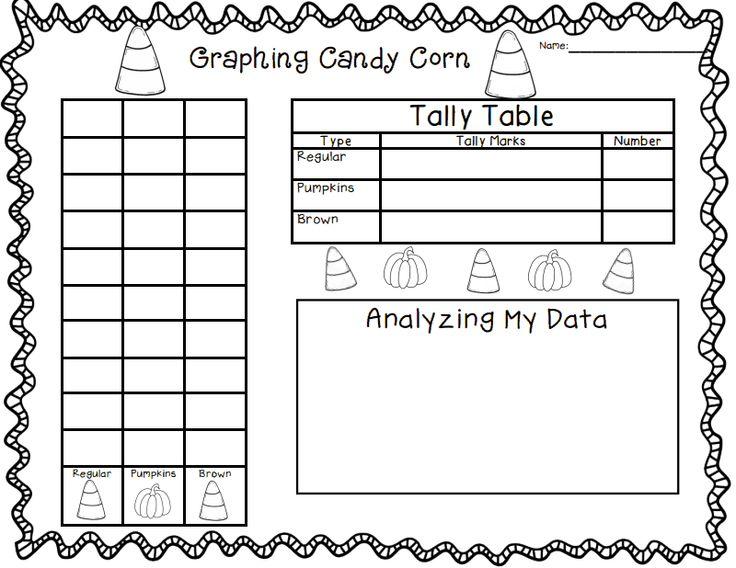 Candy Worksheets For Kindergarten : All worksheets candy corn printable