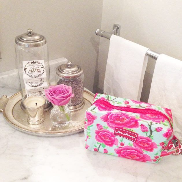 Meet Alex sage box cosmetic, this pretty little bag makes organizing your daily essentials that much more stylish and convenient. See more at louharveycanada.ca