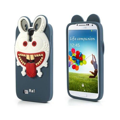Monster (Donker Blauw) Samsung Galaxy S4 Hoesje
