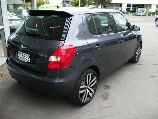 A 2012 Skoda Fabia VRS (Sports Model). This things are fabia than many other cars (see what we did there?) #skoda #fabia #cars