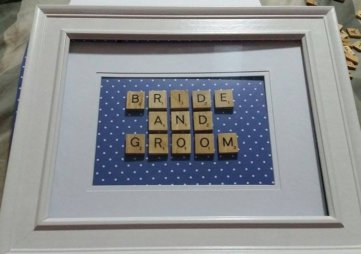 Bride & Groom Scrabble Word Art Website: www.purplebutterflydesigns42.weebly.com Facebook: www.facebook.com/purplebutterflydesigns90 Instagram: www.instagram.com/purplebutterflydesigns